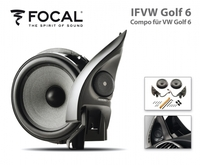 IFVW Golf 6: Focal High End Composystem für den VW Golf 6
