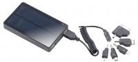 showimage revolt Solar-Powerbank mit 4.000mAh fuer iPad, iPhone, Navi, Smartphone
