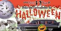 Deko und Zubehör für die Halloween-Party