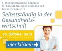 Unternehmerinnenkongress: Selbstständig in  der Gesundheitswirtschaft
