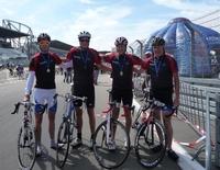 """Rad am Ring: Team """"LEDA-Feuer"""" fuhr am Nürburgring mit Bravour durchs Ziel"""