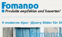 Fomando.de  Die Sichtbarkeit im Internet erhöhen.