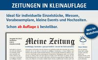 Zeitungen ab Auflage 1
