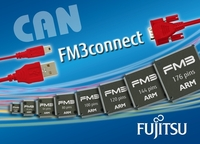 Fujitsu Enhances FM3 Family of 32-bit Microcontrollers with the Release of 93 New Products
