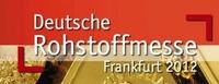 6. Deutsche Rohstoffmesse - Informationen für Aussteller