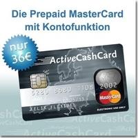 Noch attraktiver und preiswerter: Die ActiveCashCard von Prepaid MasterCard senkt die Gebühren
