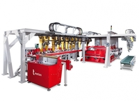 Effiziente Fertigungszelle von transfluid zum Rohre biegen und Rohre umformen