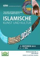 Tag der offenen Moschee 2012 in der Gazi Osman Pasa Moschee. Thema:Islamische Kunst und Kultur