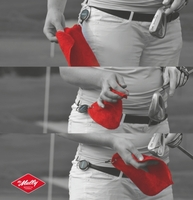 """""""the Mully"""" - das Golfhandtuch für einfache Sauberkeit auf dem Grün"""
