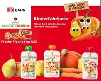 100% Bio-Obst & -Gemüse auf Schienen: Bei der DB gibt es jetzt gesunde Snacks für Kinder!