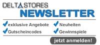 Mit dem DeltaStores Newsletter Gutscheine und Preise gewinnen