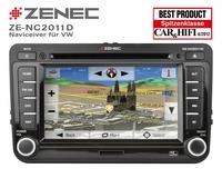 Zenecs VW-Naviceiver ZE-NC2011D begeistert die Fachpresse