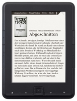 Limitierte Edition: Neuer Weltbild eBook Reader kommt mit Fitzek-Thriller