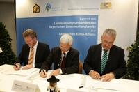 Zimmerer treten der Bayerischen Klima-Allianz bei