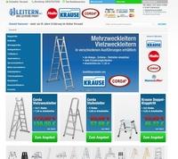 Leitern.net - Shop erneuert und Sortiment erweitert
