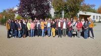 69 Mitarbeiterinnen und Mitarbeiter des Baur Versands feiern Firmenjubiläum.