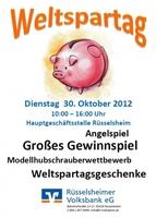 Rüsselsheimer Volksbank feiert Weltspartagsfest