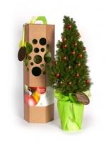 Bäume als Weihnachts-Werbegeschenk, grüner gehts nicht!