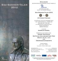 Verleihung Sigi Sommer Taler 2012