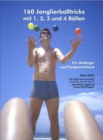 """Jonglieren einfach gemacht auf neuer Video-DVD """"160 Jonglierballtricks mit 1, 2, 3 und 4 Bällen"""""""