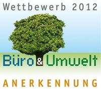 GRÜNE WELLE KOMMUNIKATION erneut für seine nachhaltige Büroorganisation ausgezeichnet