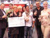 Margit Schwarz gewinnt Streuhaar-Wettbewerb auf der Haare 2012