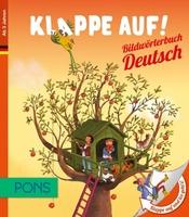 Klappe auf - und los geplappert. PONS Bildwörterbücher in Deutsch und Englisch fördern bei Kindern die Freude am Sprechen (Bild)