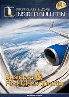 70 Prozent bei Business und First Class Flügen sparen