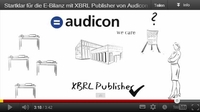 E-Bilanz kurz und knapp: Audicon GmbH veröffentlicht Erklärfilm