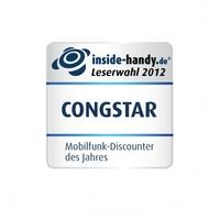 """congstar ist """"Mobilfunkanbieter des Jahres 2012"""""""