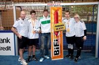 Thomas Müller macht auch als Trainer eine gute Figur