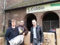 ROADSIGN®australia unterstützt die Gubbio e.V.- Obdachlosenhilfe Köln mit 100 Schlafsäcken.