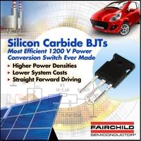 Siliciumcarbid (SiC) Lösungen von Fairchild Semiconductor bieten höchsten Wirkungsgrad und Zuverlässigkeit für Energieumwandlungssysteme