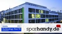 Die Sparhandy GmbH zählt zu den zehn schnellst wachsenden Technologieunternehmen Deutschlands