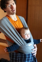 Der elterliche Rücken muss viel ertragen...