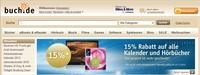 Viel sparen, mehr schenken: 15 Prozent Rabatt auf Hörbücher und Kalender bei buch.de