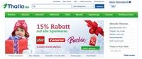 Rabattaktion bei Thalia.de: Fünfzehn Prozent auf Spielwaren