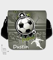 Diese Fußballtasche gehört Dustin