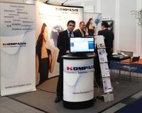 Erfolgreicher Messeauftritt der Kompass GmbH auf der Global Connect 2012 in Stuttgart