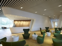 LMD-L 601 LAOLA: Wavelike ceiling designs