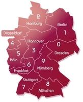 Top-Rubriken der Regionalen-Branchen-Auskunft (UPA-Verlag)