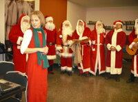 Workshop für Weihnachtsmänner und angehende Weihnachtsmänner