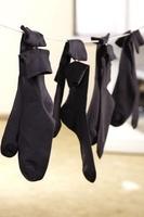Socken in der Waschmaschine