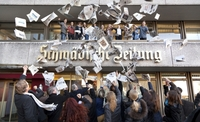 """Elf Jugendliche gestalteten """"Schwäbische Zeitung"""" von heute"""
