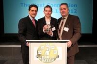 Sievert Handel Transporte gewinnt europaweit renommierten Lean and Green Award