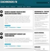CoachingRadio.fm putzt sich heraus