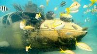 Aruba: Bei SeaTrek auf dem Meeresgrund spazieren gehen