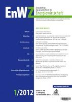 Neu bei C.H.Beck: EnWZ- Zeitschrift für das gesamte Recht der Energiewirtschaft
