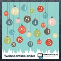24 x 50 Prozent sparen - der Adventskalender auf Wandmotive.de