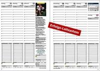 Jahreskalender / Jahresplaner für Job und Karriere, für Mitarbeitermotivation und Mitarbeiterführung